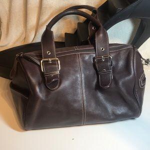 Tignanello Brown leather satchel